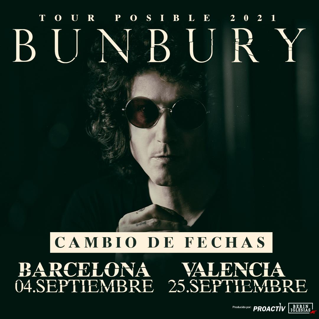 Bunbury Tour Posible 2021