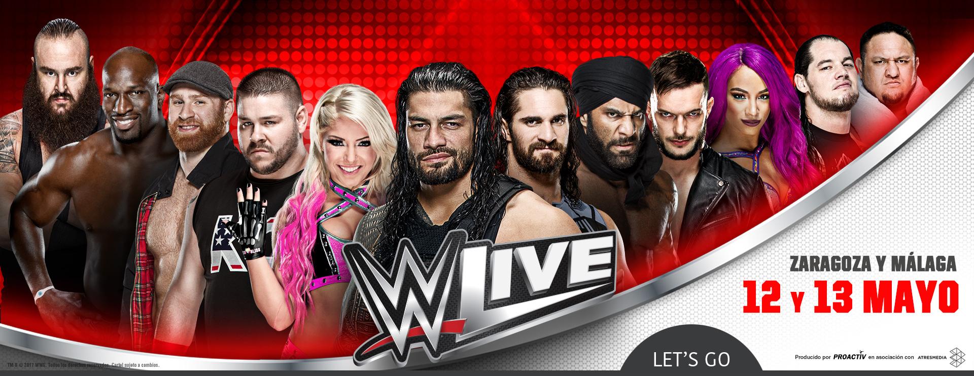 WWE 18 Tour